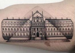 Tatuagens do Museu do Louvre - O Museu Mais Famoso do Mundo