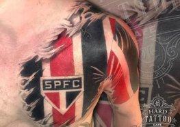 Tatuagens do São Paulo o Tricolor Paulista, Amado Clube Brasileiro