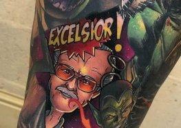 Tatuagens em Homenagem a Stan Lee