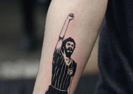Tatuagens em Homenagem ao Dr. Socrates