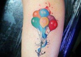 Tatuagens Femininas de Balão: Tudo Que Você Queria Saber