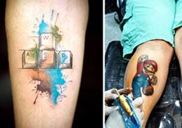 20 Tatuagens Geeks e Nerds confira o que separamos para você
