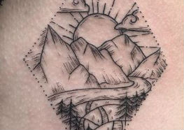 Tatuagens Inspiradas no Meio Ambiente