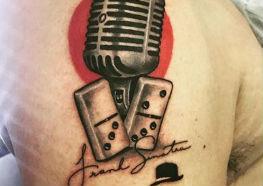 Tatuagens Inspiradoras de Frank Sinatra