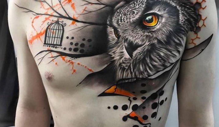 Tatuagens no peito. Lindas tattoo para te inspirar.