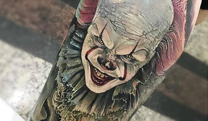 Tatuagens Stephen King: Clássicos do terror