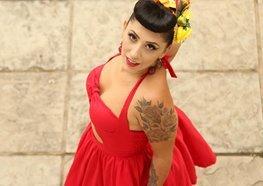 Título de Miss Pin-Up é passado no segundo maior evento de Tatuagem