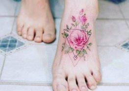 Tudo sobre Tatuagem no Pé + Incríveis Tattoos